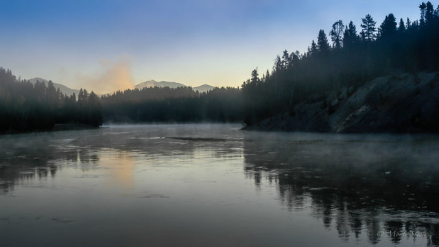 Yellowstone River Sunrise