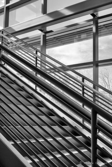 Stairs and Lines at CSU Campus